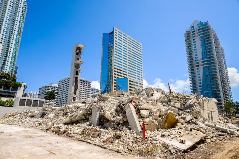 Diagnostic portant sur la gestion des déchets issus de la démolition ou réhabilitation lourde